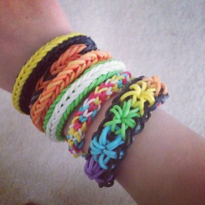 My daughter finally knows what I do because of Rainbow Loom.