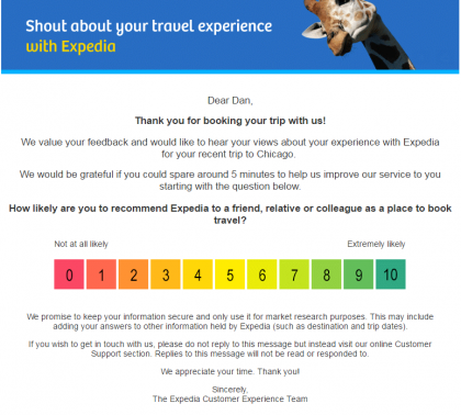 Expedia makes it stupid simple to answer a critical question.