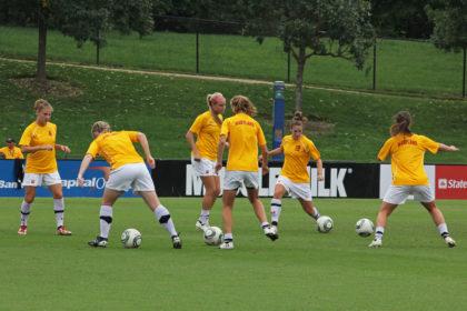 soccer warmup